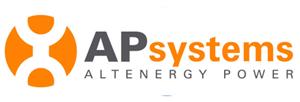 Logo ApSystems - Partenaire Aprosios Energie